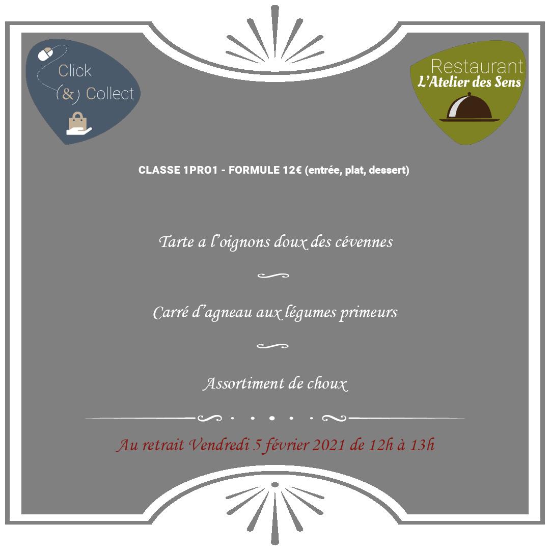 L'Atelier des Sens 05 02 21 midi