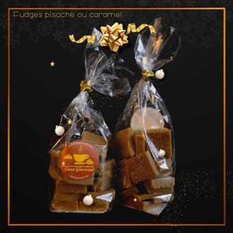 Fudges pistache ou caramel