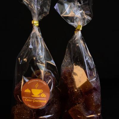 Pâte de fruits Citron-Framboise