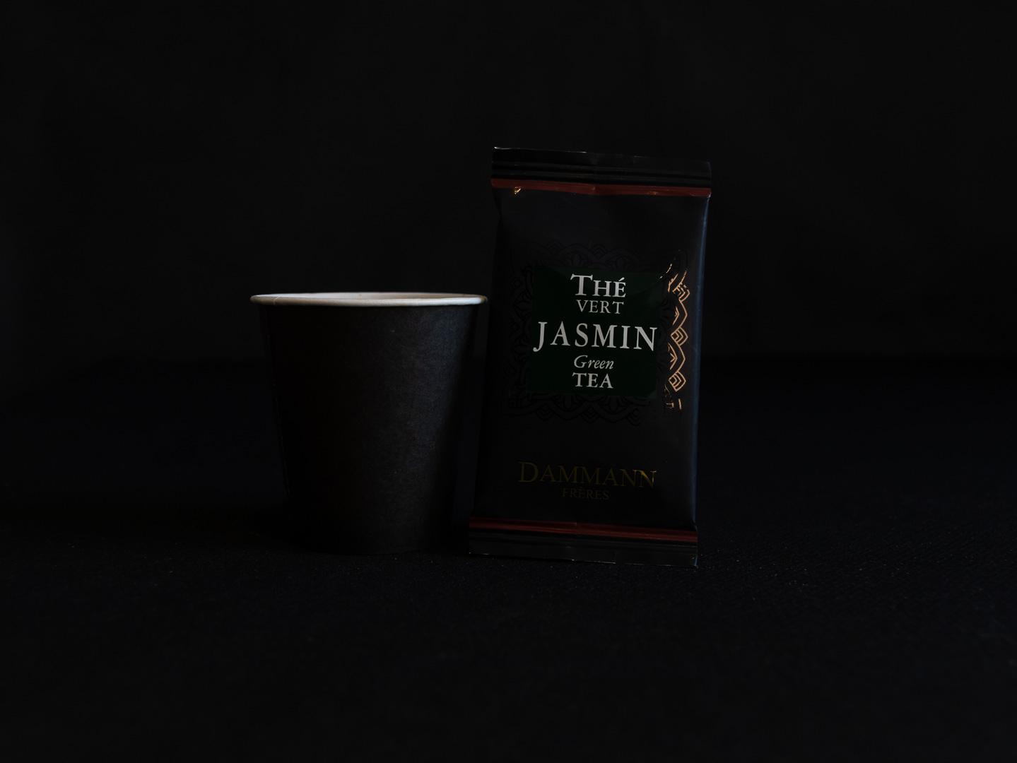 The vert jasmin coeur gourmand